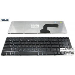 החלפת מקלדת למחשב נייד אסוס Asus A50 N50 N90 K52 K72 laptop keyboard V090562AS1 - 1 -