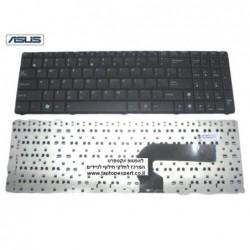 החלפת מקלדת למחשב נייד אסוס Asus A50 N50 N90 K52 K72 laptop keyboard V090562AS1 - 2 -