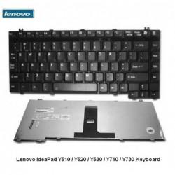 מקלדת למחשב נייד לנובו 190 שקל עברית Lenovo IdeaPad Y510 / Y520 / Y530 / Y710 / Y730 Keyboard 25-007696 / 39T7385 / 39T7417 - 1
