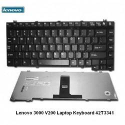 מקלדת למחשב נייד לנובו 145 שקל כולל עברית חרוטה Lenovo 3000 V200 Laptop Keyboard 42T3341 - 1 -