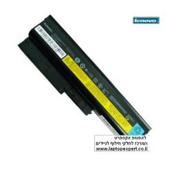 סוללה למחשב נייד לנובו - מקורית - משווק מורשה Lenovo ThinkPad R60 / R61 / T60 / T61 6 Cell Battery 43R9252 / 92P1137 / 92P1142 -