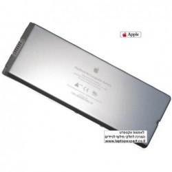 """סוללה מקורית למחשב נייד אפל צבע לבן Apple MacBook 13"""" A1185 A1181 Battery Original - 1 -"""