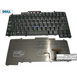 החלפת מקלדת למחשב נייד דל Dell D830 Keyboard JK623 NSK-D5001 UP826 US Black - 1 -