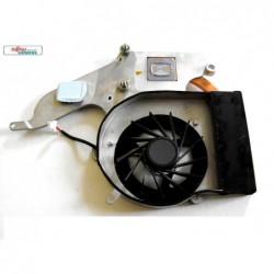 מאוורר למחשב נייד פוגיטסו כולל גוף קירור Cooler CPU Notebook Fujitsu M9400 IVF: 6043B0037401 / GC054509VH-A - 1 -