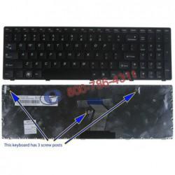 מקלדת למחשב נייד לנובו Lenovo G570 keyboard MP-10A33US-6864 / 25012186 / 25-010793 - 1 -