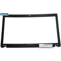 """מסגרת פלסטיק מסך למחשב נייד לנובו Lenovo G570 front lcd lid for 15.6"""" displays, black AP0GM000100 - 1 -"""