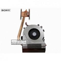 מאוורר למחשב נייד סוני כולל גוף קירור Sony Vaio VGN-NW CPU Fan And Heatsink - Panasonic UDQFRHH06CF0 - 1 -