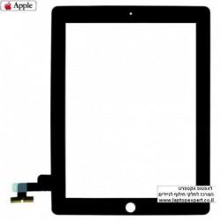 מסך מגע מקורי (דיגיטייזר - זכוכית) לאייפד 2 Original Black / White Touch Screen for iPad 2 - 2 -