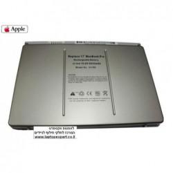 סוללה מקורית למחשב נייד אפל A1189 APPLE MacBook Pro 17 inch A1189 / MA458 Battery 6600mAh - 1 -