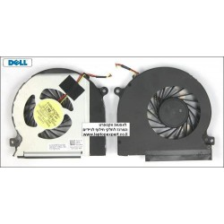 מאוורר / וינטלטור מקורי למחשב נייד דל Dell XPS 15 L501X Cpu Fan CN-0W3M3P-72744-0AF-00BZ -A00 DFS601305FQ0T 0W3M3P - 1 -