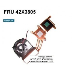 מאוורר למחשב נייד Lenovo IBM X60 X60S X61 X61S Cpu Fan FRU 42X3805 - 1 -