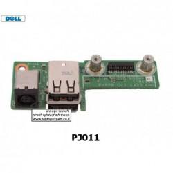 שקע / פלג חשמל טעינה למחשב נייד דל - PJ011 - Dell XPS M1530 DC JACK Usb Board 48.4W104.011 - 1 -