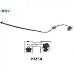 פלג חשמל - שקע טעינה למחשב נייד אייסר PJ250 - Acer Aspire One D250 AOD250 KAV60 P531 DC Jack Cable DC301007400 - 1 -
