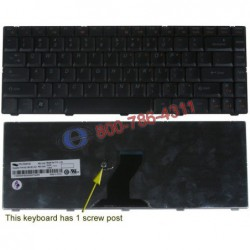 מקלדת למחשב נייד לנובו IBM Lenovo IdeaPad B450 Laptop Keyboard - 25009183 / 9Z.N8182.X01 / Y10-US - 1 -