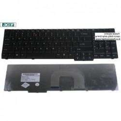 החלפת מקלדת למחשב נייד אייסר Acer Aspire 9800 9810 keyboard NSK-AF11D 9J.N8782.11D 6037B0018601 - 1 -