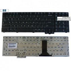 מקלדת למחשב נייד קומפאק אייץ.פי HP NC8700 / 8710P / 8710W 450471-001 , PK1300X04S0 , K070602F1 , PK13ZKF3F00 - 1 -