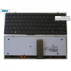 מקלדת למחשב נייד דל כולל תאורה Studio XPS 1340 1640 Backlit Black XSB87 - 0HW184 - NSK-DF101 - 1 -