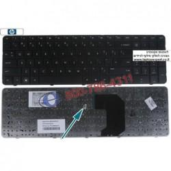 מקלדת למחשב נייד עם מסך 17 HP Pavilion G7 Laptop Keyboard , 636376-BB1, 633736-001, AER18U00010, 2B-41801Q100 , 646568-001 - 1 -