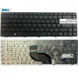 החלפת מקלדת למחשב נייד דל DELL INSPIRON 14V / 14R / N4010 / N4020 Laptop Keyboard 01R28D , NSK-DJD0U , 0JRH7K - 1 -