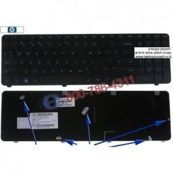 החלפת מקלדת למחשב נייד HP G72 , Compaq Presario CQ72 Laptop Keyboard 590086-001 , 603138-001 , 603137-001 - 1 -