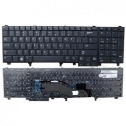 מקלדת למחשב נייד דל כולל עכבר מובנה Dell Latitude E6520 E6530 M6600 M6700 Laptop keyboard 0DY26D - 1 -