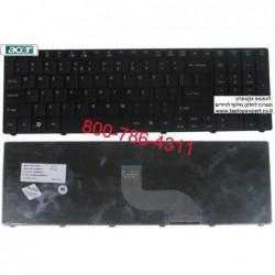 החלפת מקלדת למחשב נייד אייסר Acer Travelmate Timeline 8571 Laptop Keyboard 6037B0042401 , 9Z.N3M82.01D , NSK-AU01D - 1 -