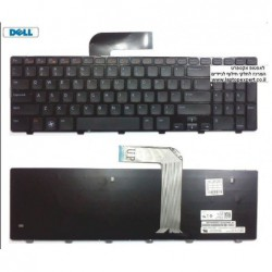 החלפת מקלדת למחשב נייד דל Dell Inspiron 15R N5110 5110 Laptop Keyboard 04DFCJ / NSK-DY0SW - 1 -