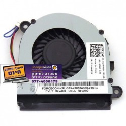 מאוורר למחשב נייד דל Dell Latitude E5520 DFS470805WL0T , 03WR3D Cpu Laptop Fan - 1 -