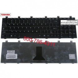 מקלדת למחשב נייד טושיבה Toshiba Satellite M65 / M65 / P100 / P105 Laptop Keyboard  MP-03233US-920 , AEBD10IU011-US - 1 -