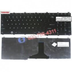 מקלדת למחשב נייד טושיבה Toshiba Satellite L650 L670 Glossy Black NSK-TN0GV , 9Z.N4WSV.001 - 1 -