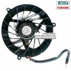 מאוורר למחשב נייד טושיבה / אייסר Acer Aspire 1700 / Toshiba Satellite A60 A65 laptop CPU fan UDQF2RH51C1N - 1 -