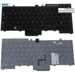 החלפת מקלדת למחשב נייד דל Dell Latitude E6410 E6510 ,Precision M4500 Laptop Keyboard NSK-DB001 , 0HT514 , NSK-DB301 , NSK-DB31D
