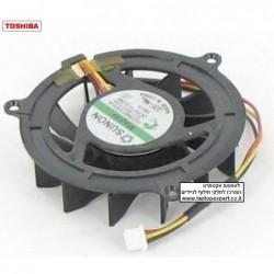 מאוורר למחשב נייד טושיבה Toshiba Satellite M300 CPU Cooling FAN KSB0505HA 7K25 - 1 -