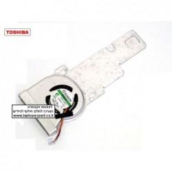 מאוורר למחשב נייד נטבוק טושיבה Toshiba Satellite NB205 NB200 Cpu Fan TA001-09001 , GC053507VH-A - 1 -