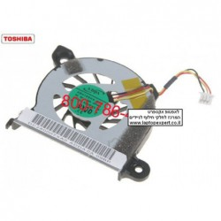 מאוורר למחשב נייד טושיבה Toshiba Netbook Mini NB305 Cpu Fan DC280007XA0 , AB4105HX-KB3 - 1 -