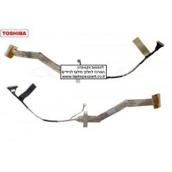 """כבל מסך למחשב נייד טושיבה Toshiba Satellite A300 A305 A305D 15.4"""" LCD Cable 6017B0147801 - 1 -"""