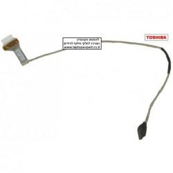 """כבל מסך למחשב נייד טושיבה Toshiba Satellite C655 C655d 15.6"""" Lcd Cable 6017B0265601 - 1 -"""