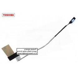 כבל מסך למחשב נייד טושיבה Toshiba Netbook NB305 NB300 LCD Cable DC02000ZF10 - 1 -