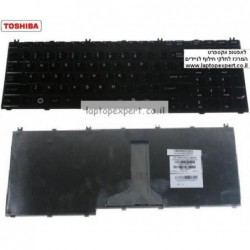 מקלדת למחשב נייד טושיבה Toshiba Satellite L550 L550D L555 L555D Keyboard MP-08H73US6698 , PK130741A00 - 1 -