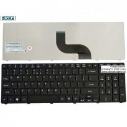 החלפת מקלדת למחשב נייד אייסר Acer Aspire 5740 / 7535 / 7736 Laptop keyboard 9J.N1H82.01D ,  9J.N1H82.K1D