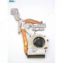מאוורר למחשב נייד דל כולל גוף קירור Dell Inspiron 14V N4020 N4030 M4010 02WF6K Laptop Cooling Fan Heat Sink - 1 -