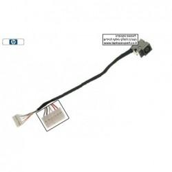 שקע טעינה כולל כבל למחשב נייד HP Pavilion DV5 Dc Power Jack - 1 -