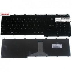 מקלדת למחשב נייד טושיבה Toshiba Satellite L500 / L505 / L583 / L585 Keyboard 9J.N9282.801, NSK-TB801, V000190190 - 1 -