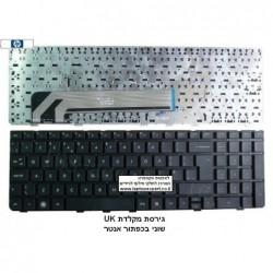 החלפת מקלדת למחשב נייד HP ProBook 4530s 4730s 4535s US Keyboard 638179-001 , NSK-CC0SV - 2 -