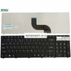 מקלדת למחשב נייד אייסר Acer Aspire 5741 / 7741 / 7738 Laptop keyboard 9J.N1H82.01D , 9J.N1H82.K1D