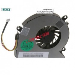 מאוורר למחשב נייד אייסר  Acer Aspire 5310 5315 5520 5715 5715Z 7520 7720 AB7805HX-EB3 Laptop Cpu Fan - 1 -