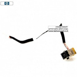 שקע טעינה למחשב נייד PJ302 - DC Power Jack Cable for HP Probook 4720S / 4725S DC Jack Cable 50.4GL09.031 - 1 -