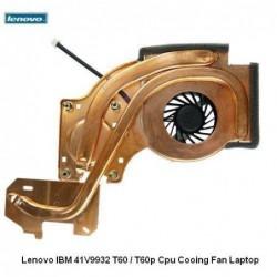 מאוורר למחשב נייד י.ב.מ לנובו - משווק מורשה Lenovo IBM 41V9932 T60 / T60p Cpu Cooling Fan Laptop - 1 -