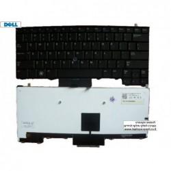 מקלדת מוארת כולל עברית למחשב נייד דל Dell Latitude E4310 Laptop Keyboard 378X2 / 0378X2 HEBREW Backlit - 1 -
