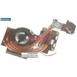 מאוורר למחשב נייד לנובו Lenovo Thinkpad W500 T500 R500 45N5492 45N5492  Laptop CPU Fan - 1 -